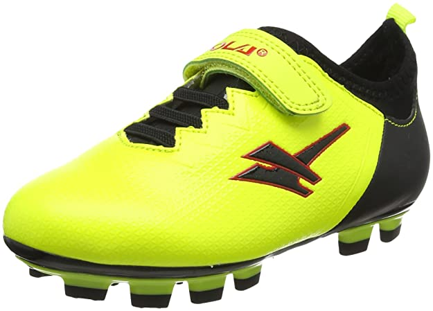 Gola Unisex-Kinder Alpha Blade,Velcro Fußballschuhe