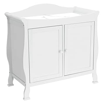 DaVinci Parker 2-door Changer in Pure White  sc 1 st  Amazon.com & Amazon.com : DaVinci Parker 2-door Changer in Pure White : Changing ...