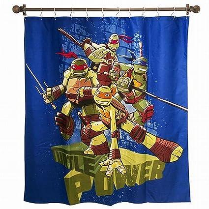 Nickelodeon Teenage Mutant Ninja Turtles Shower Curtain 72 Inch X