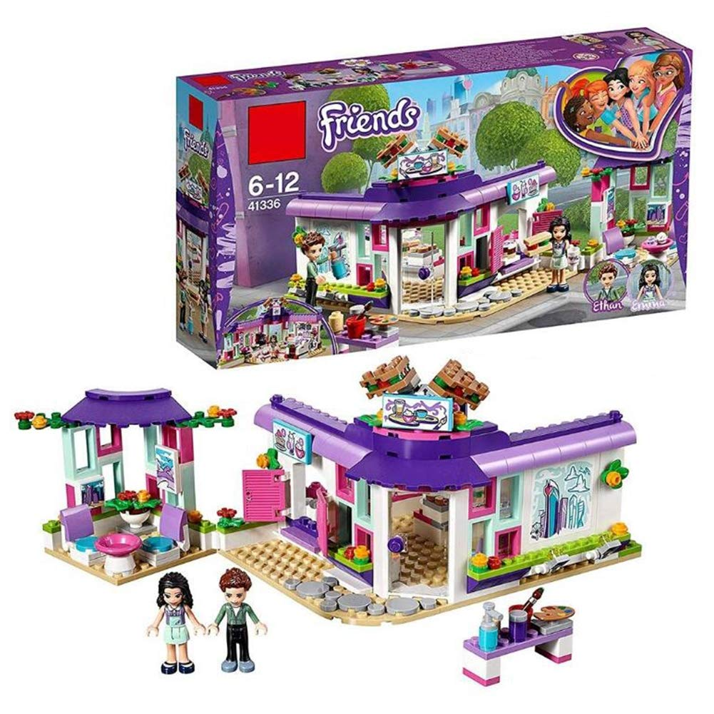 suministro de productos de calidad YK GAME Heartlake's Heartlake's Heartlake's Art Cafe Playset Mini Doll Haciendo y Jugando Divertidos Juguetes para niños,A  en venta en línea