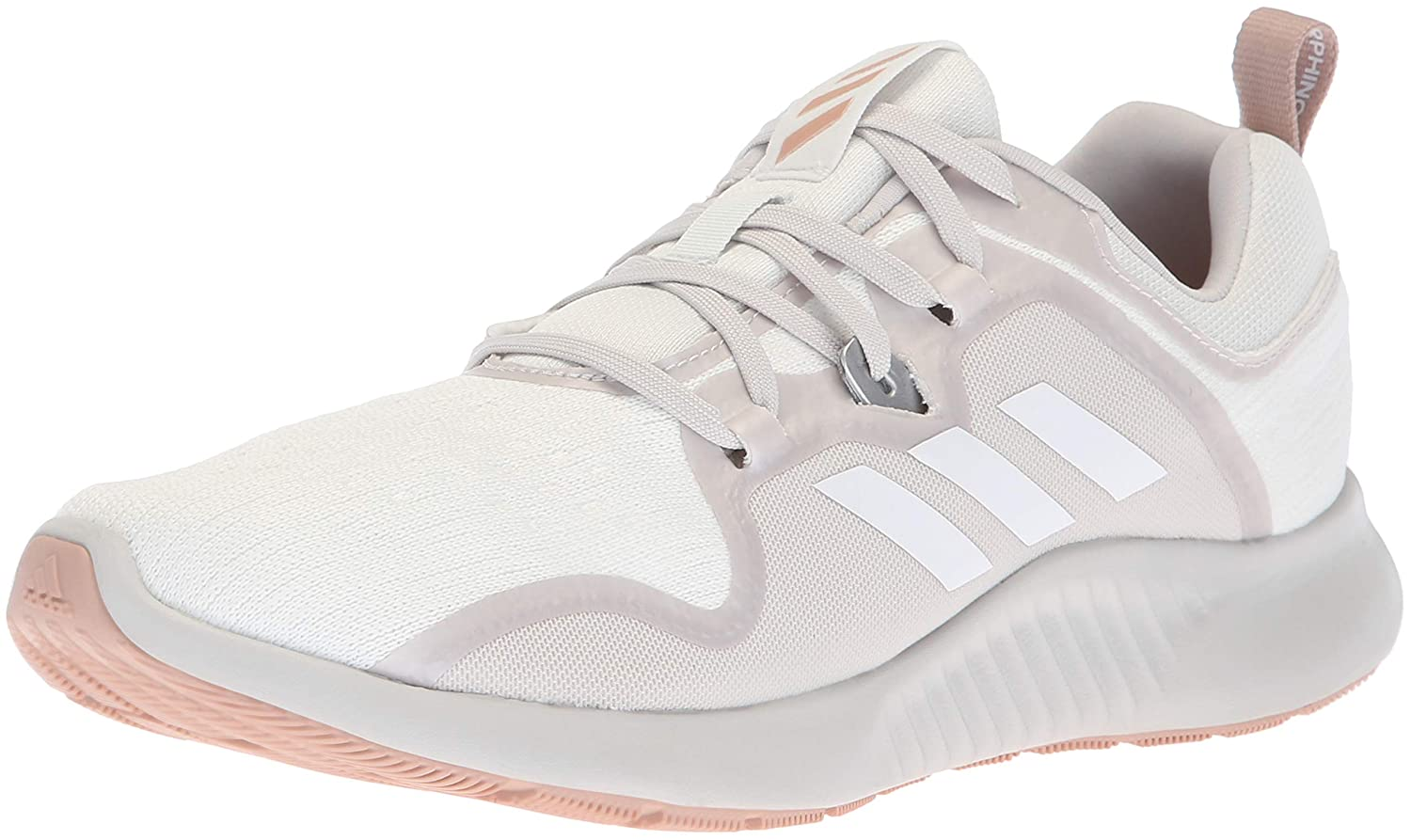 White Grey Ash Pearl Adidas Womens Edgebounce Running shoes