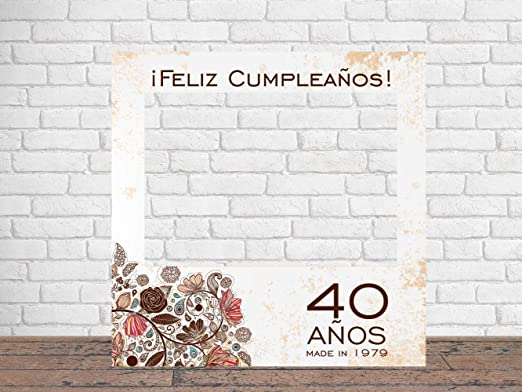 Photocall Feliz Cumpleaños Animales 100 x100 cm | Regalos ...