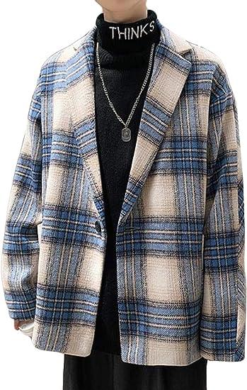 Ellteチェスターコート メンズ ラシャ コート ブルゾン ジャケット メンズ トレンチコート 秋冬 アウター スプリングコート 長袖