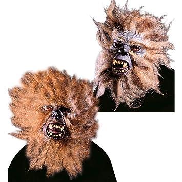 Máscara terrorífica del hombre lobo careta halloween