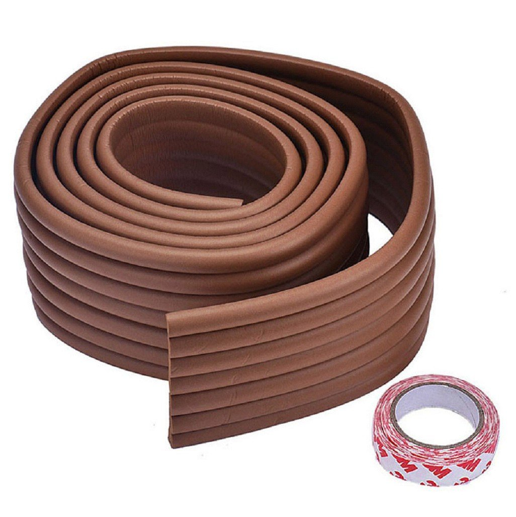 Vovotrade® Baby Bumper Strip Safety Corner Protector Cushion Strip And 3M Sticker (Pink) Vovotrade®