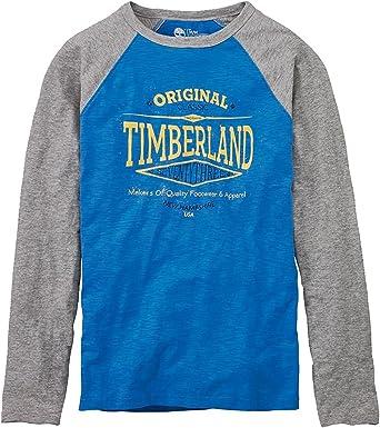 Humorístico Persona a cargo Mirar  Amazon.com: Timberland Men's Slub Jersey Cotton Baseball T-Shirt: Clothing