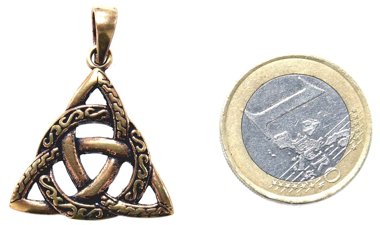 Kiss of Leather Ciondolo nodo celtico in bronzo n 142