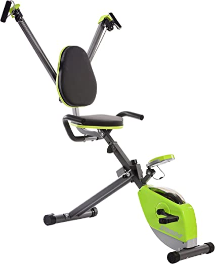 Stamina Wonder - Bicicleta estática con sistema de fuerza superior ...