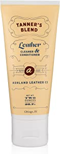 Tanner's Blend - Leather Cleaner & Conditioner Made for Horween & All Genuine Real Quality Leather Bags Shoes Furniture Cars Wallets Purses (2oz)
