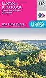 Landranger (119) Buxton & Matlock, Chesterfield, Bakewell & Dove Dale (OS Landranger Map)