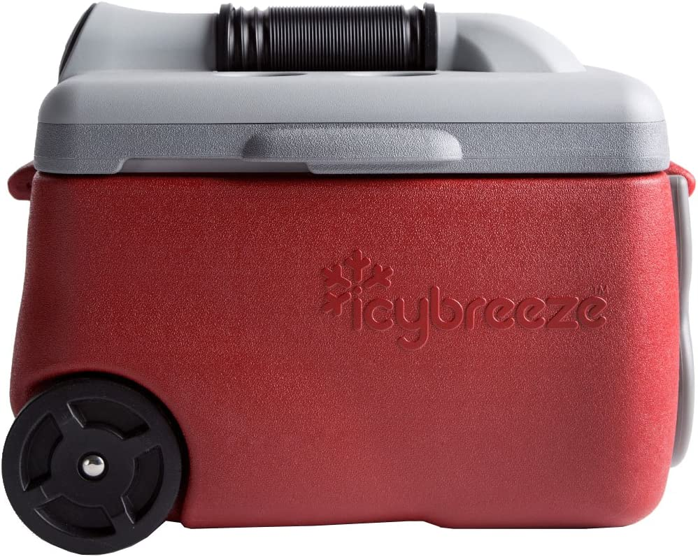IcyBreeze Cooler Chill Package No Battery, Direct Power Unit Ultimate Stationary Package