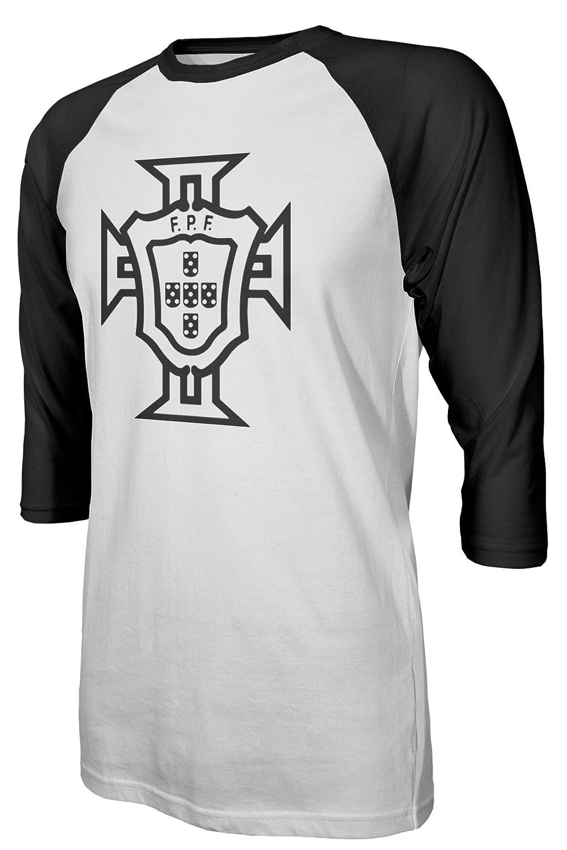 eb46864a623 Amazon.com: Tcamp Portugal 2018 National Soccer #7 Cristiano RONALDO World  Championship Men's Quarter Sleeve Raglan T-Shirt: Sports & Outdoors