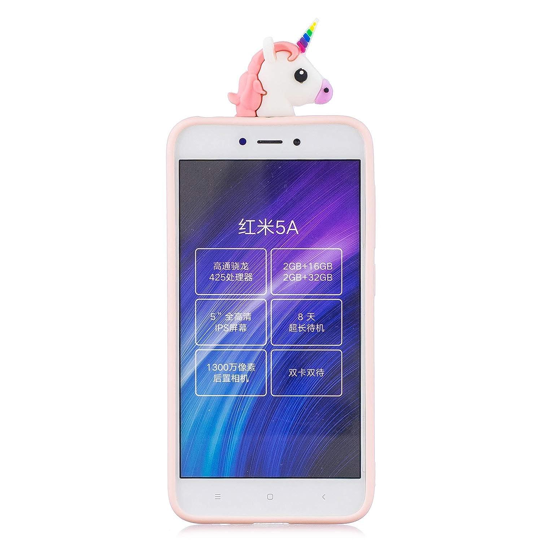 Funluna Funda Xiaomi Redmi Note 5 Amarillo 3D Oso Patr/ón Ultra Delgado TPU Cover Suave Silicona Carcasa Gel Anti-Rasgu/ño Protectora Espalda Bumper Case para Xiaomi Redmi Note 5