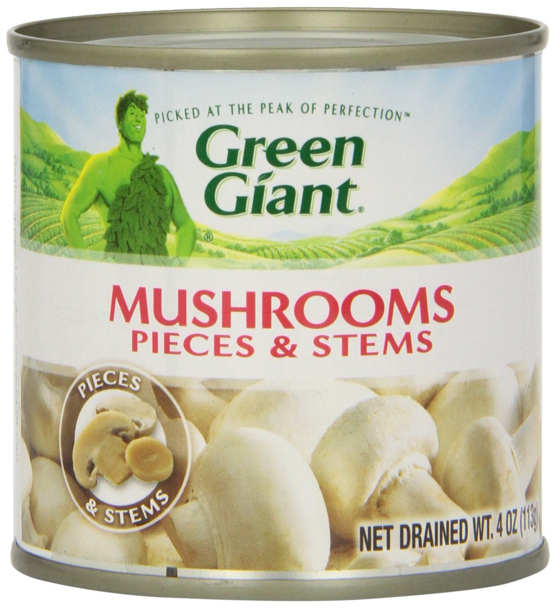 Green Giant Mushrooms - Pieces & Stems - 4 oz by Green Giant