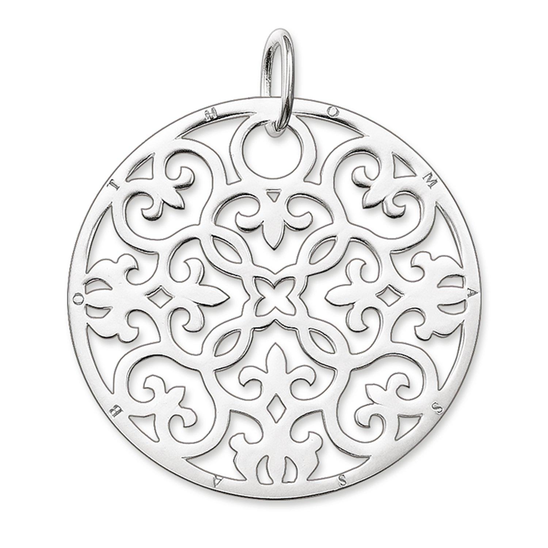 Thomas Sabo Damen-Anhänger Glam & Soul Ornament 925 Sterling Silber 4.1 cm PE431-001-12 Thomas Sabo GmbH