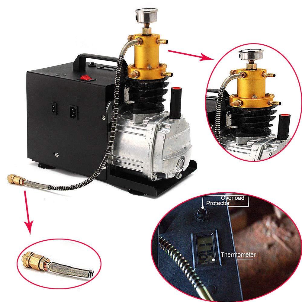 Bomba neumática alta presión, Compresor de aire eléctrico, 1800 W, PCP, 40 MPA, 4500 PSI: Amazon.es: Bricolaje y herramientas