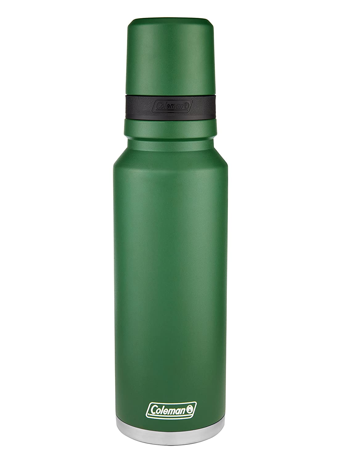 Coleman 3Sixty Pour Insulated Stainless Steel Thermal Bottle, Sandstone,