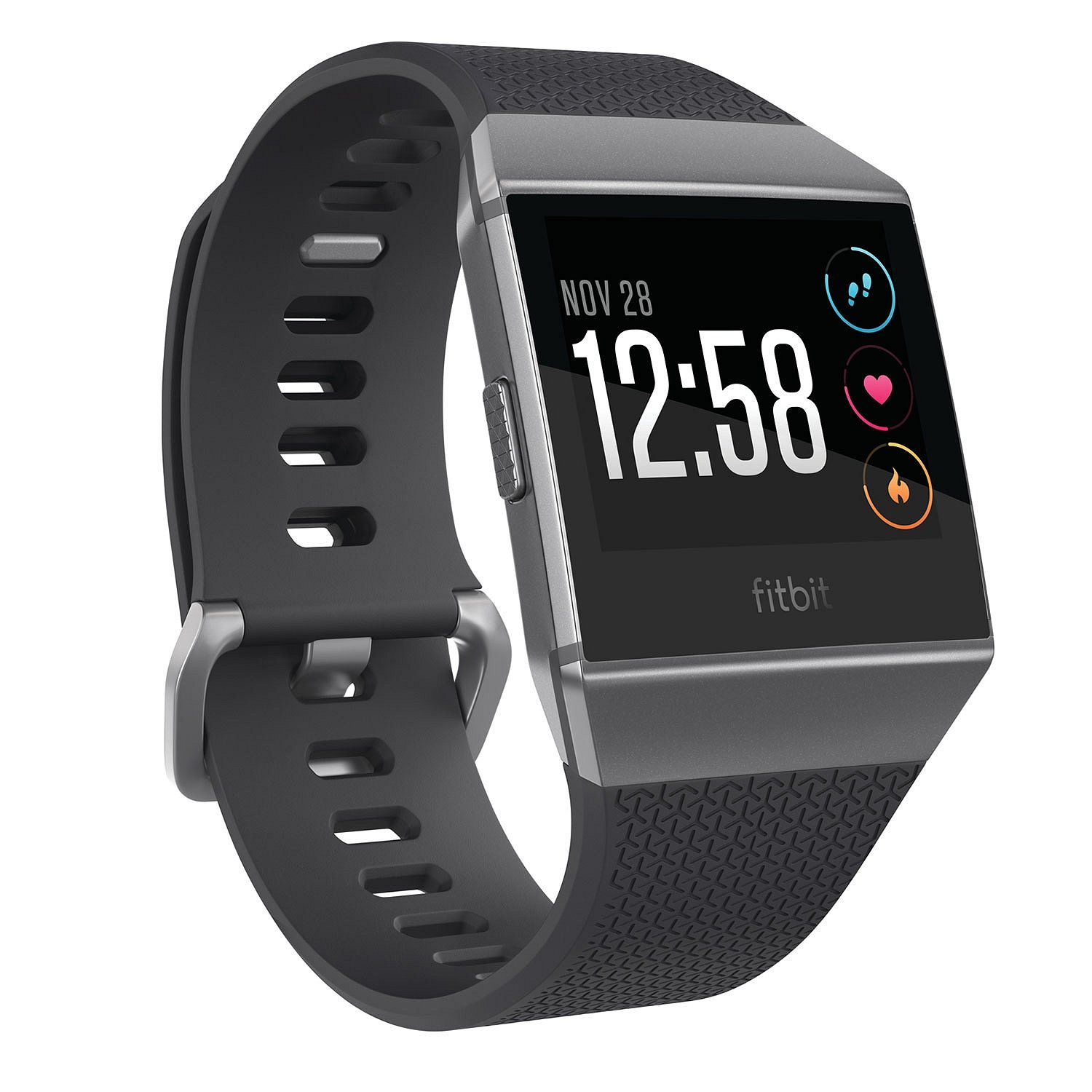 Amazon.com: Fitbit FB503GYBKSOS Ionic Smartwatch, Charcoal ...