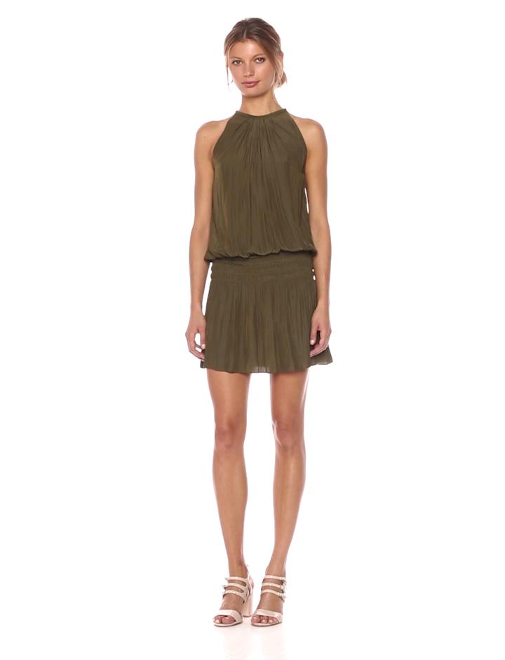 2ccd8443a1811a Amazon.com  Ramy Brook Women s Paris Sleeveless Elastic Waist Mini ...