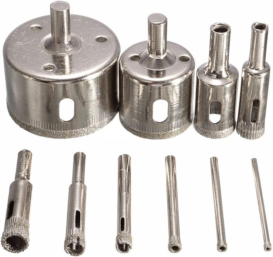 2 pezzi ciascuno di grana 60//120//240, 4 pezzi grana 150 FDKKK 10 pezzi nastri abrasivi 40mm x 680mm strumenti di lucidatura allossido di alluminio