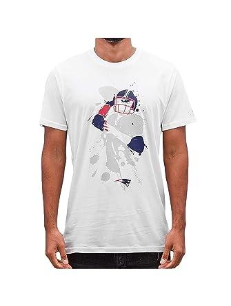 New Era Men Overwear T-Shirt NFL Quarterback Splash New England Patriots   Amazon.co.uk  Sports   Outdoors d7d896be7