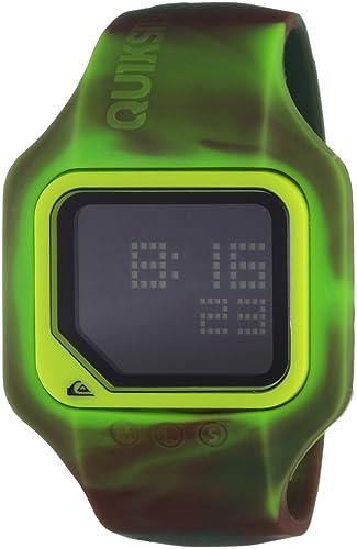Quiksilver M167DS-71T - Reloj digital para hombre con correa de plástico, color verde: Amazon.es: Relojes