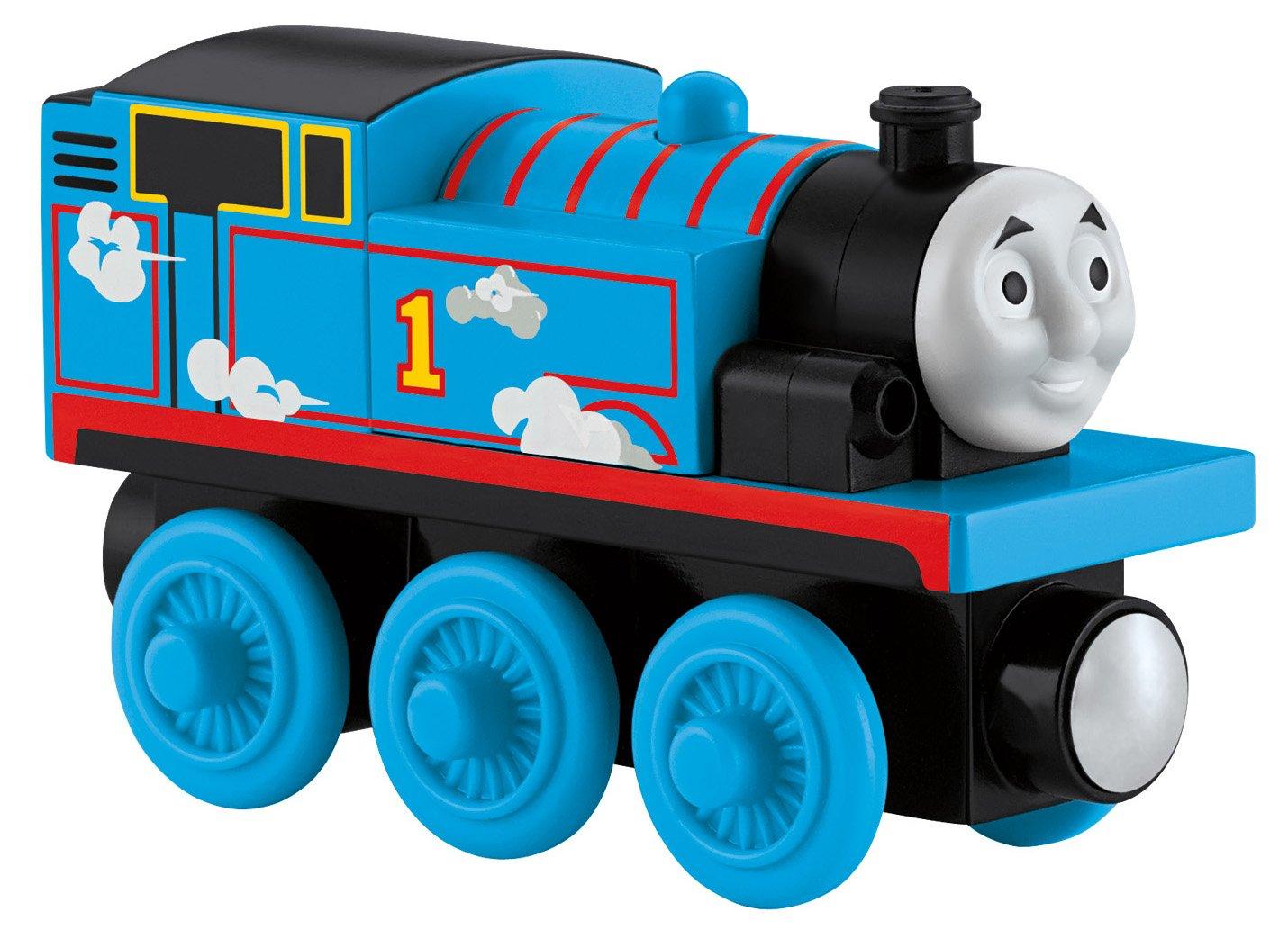 Thomas & Friends Fisher-Price Wooden Railway, Roll & Whistle Thomas
