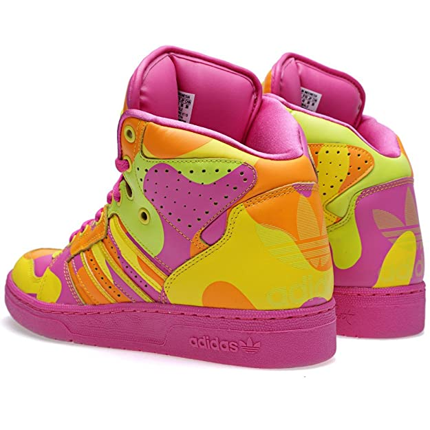 super popular 2b9a3 83a06 Adidas Jeremy Scott Instinct Hi Neon Camo  Amazon.ca  Shoes   Handbags