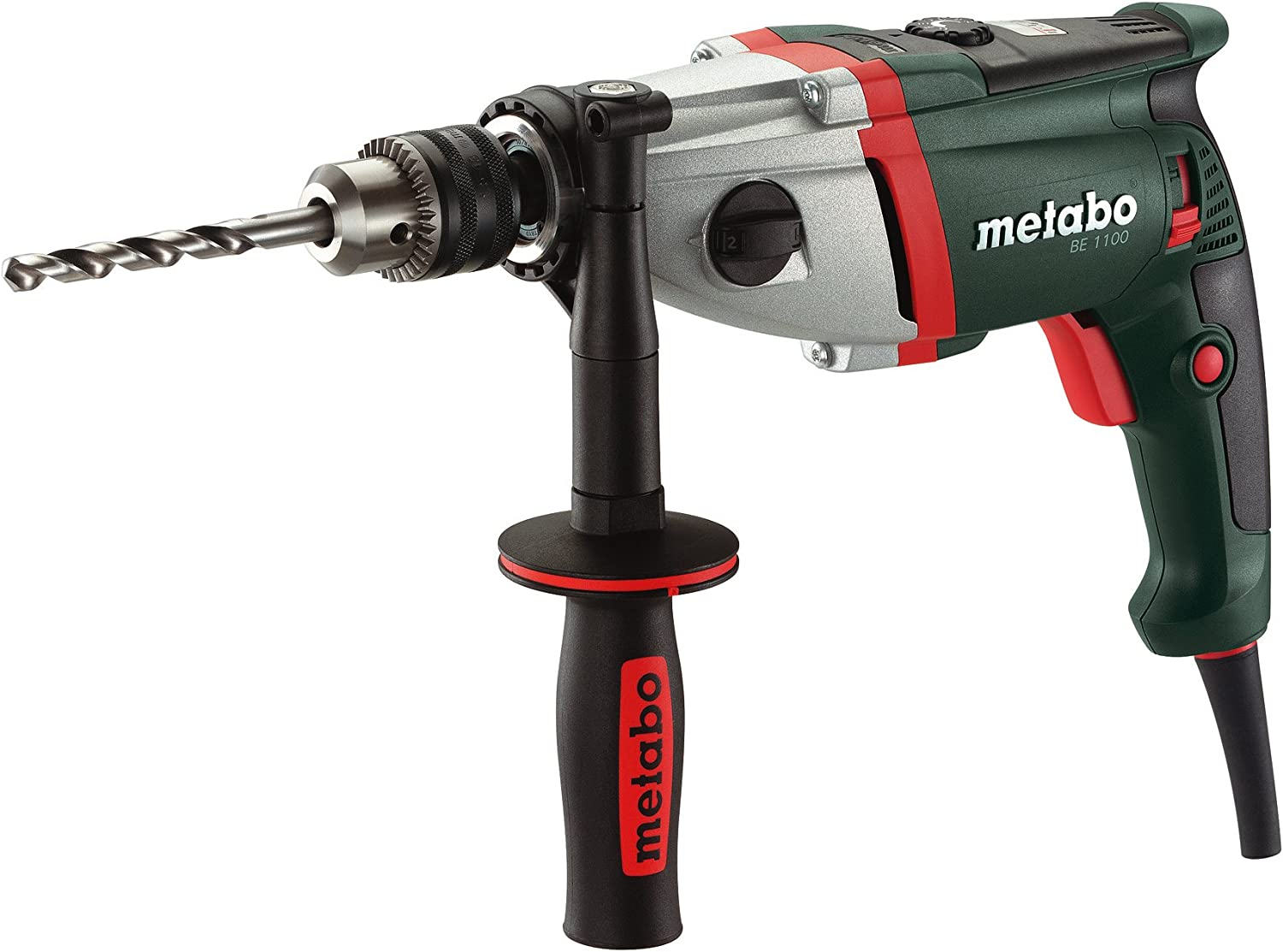Metabo BE 1100 0-900 0-2,800 RPM 9.6 AMP 1 2-Inch 2 Speed Drill
