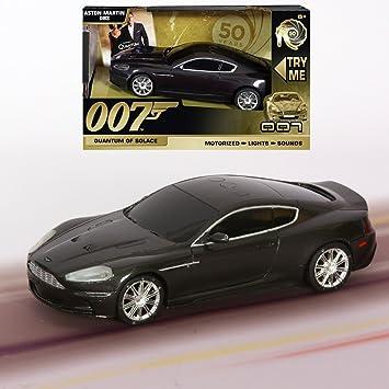 Toy State 62011 James Bond 007 Aston Martin Dbs V12 Mit Licht Sound Und Fahrfunktion Amazon De Spielzeug