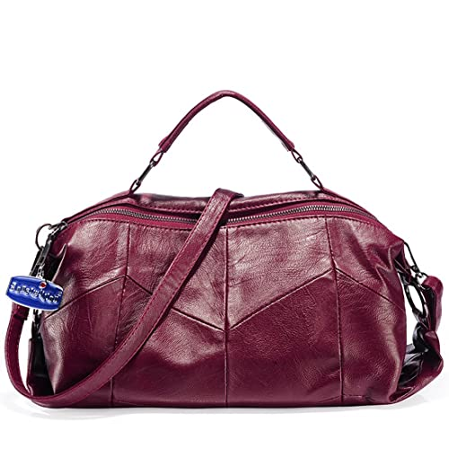 a7765bbfeb8d Amazon.com  Soperwillton Handbags for Women Top Handle Tote Satchel Hobo  Shoulder Bags  Shoes
