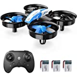 Holy Stone Mini Drone for Kids and Beginners RC Nano Quadcopter Indoor Small Helicopter Plane with Auto Hovering, 3D Flip, He
