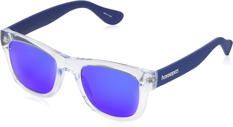 Havaianas PARATY/M Z0 QM4 50 Gafas de Sol, Azul (Crystal Blue), Unisex Adulto
