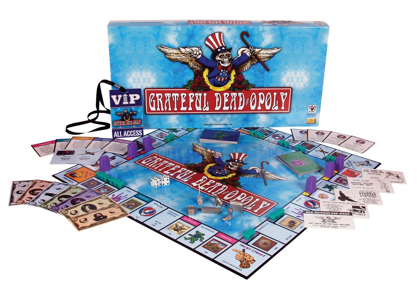 Grateful Dead 1134 Grateful Deadopoly - Juego de mesa de ...