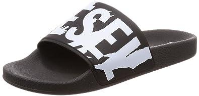 sports shoes ce29d 8f70c DIESEL Sa-Maral Herren Sandalen Schwarz: Amazon.de: Schuhe ...