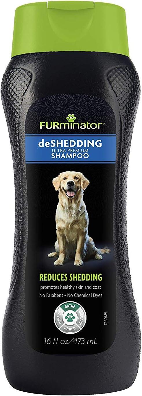 Furminator deShedding Ultra Premium Shampoo and Conditioner Bundle, 16-Ounce Each