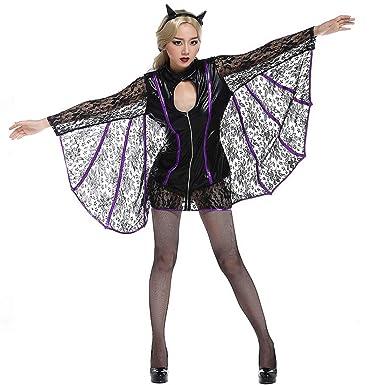Amazon.com: Traje de disfraz para Halloween con diseño de ...