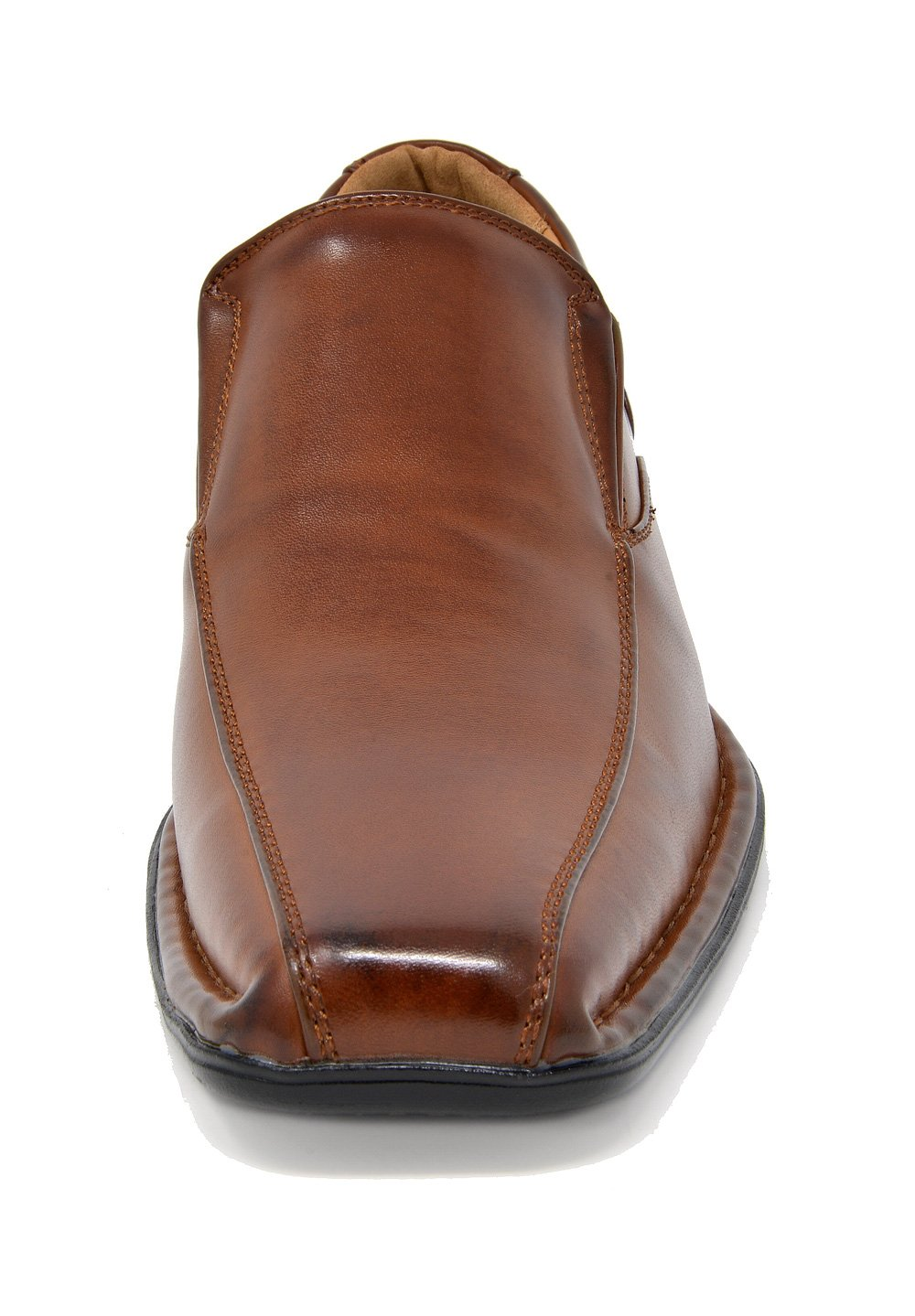 Bruno Marc Men's Giorgio-1 Brown Leather Lined Dress Loafers Shoes - 11 M US by BRUNO MARC NEW YORK (Image #5)