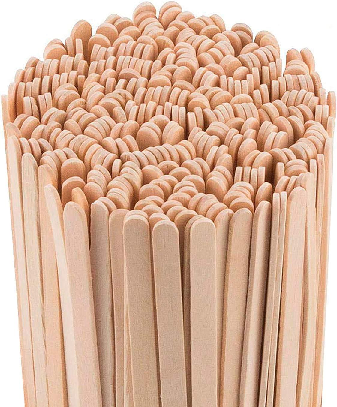 Daddy Chef Coffee Stirrers Sticks, Natural Birch Wood 1000 Count, 7.7