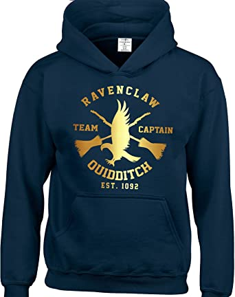 f83a7cf08 ... Shop Repeat Inspired by Ravenclaw Hoodie Harry Potter Quidditch Team  Children Hoodies Available from 3 to 15 Years Included.: Amazon.co.uk:  Clothing