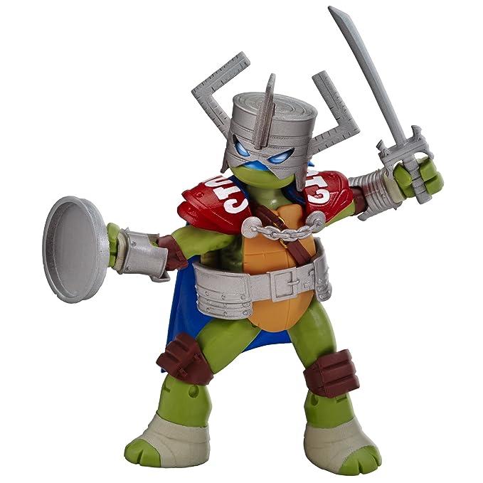 Amazon.com: Teenage Mutant Ninja Turtles Leonardo figura de ...