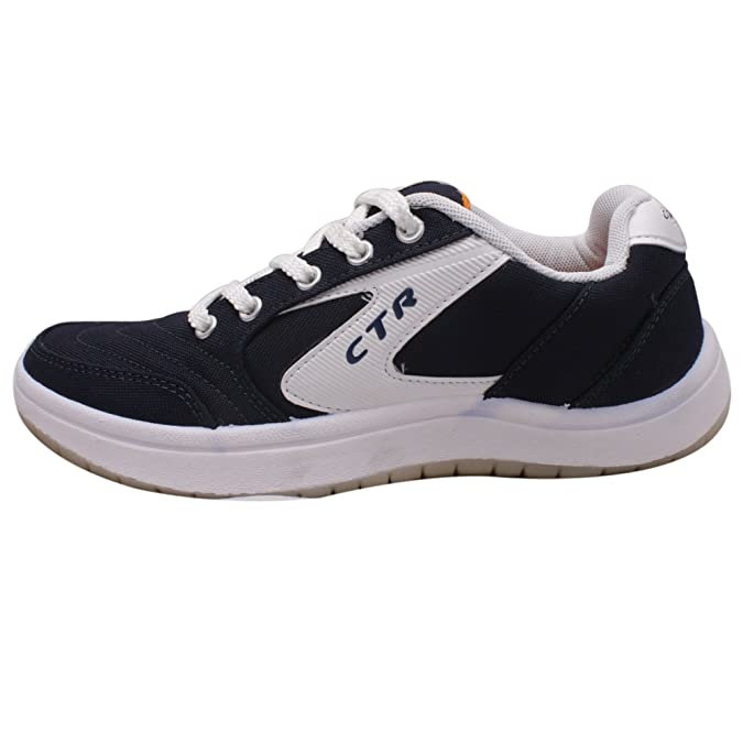 Black\u0026White Synthetic Sneakers-9