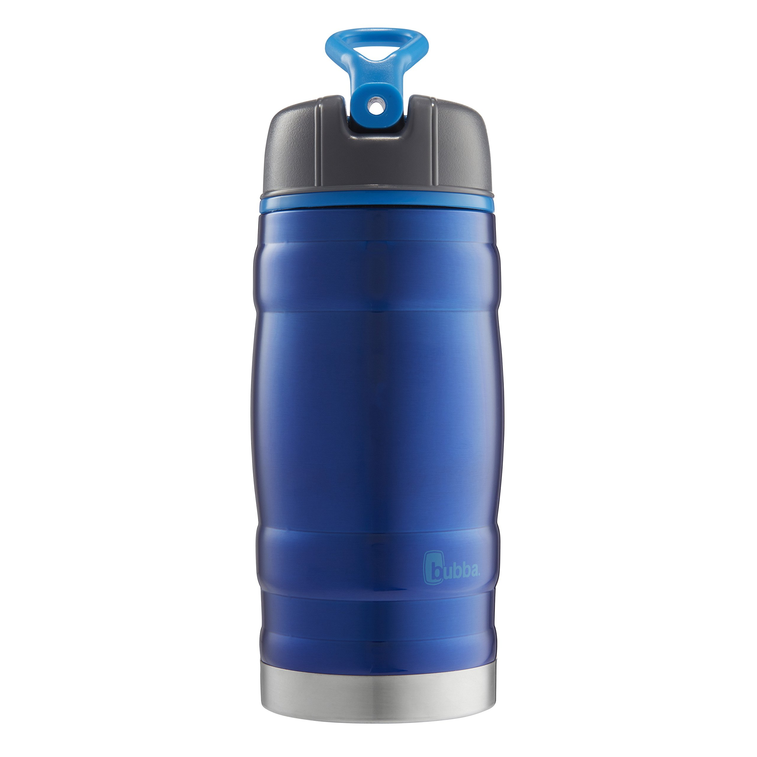 Bubba HERO Kids Sport Vacuum-Insulated Stainless Steel Water Bottle, 12 oz, Blue