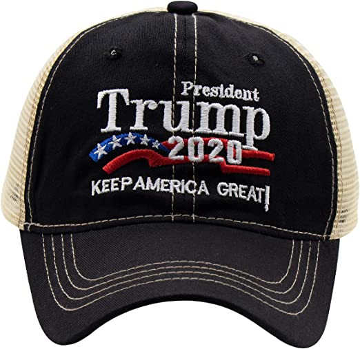 Donald Trump Cap USA Flag Keep America Great Maga hat President 2020 Embroidered