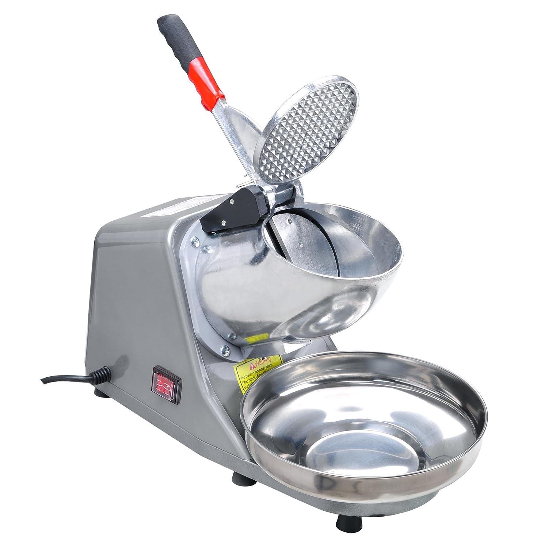 Yescom 200W Electric Ice Shaver Snow Cone Maker Shaving Crusher Machine 1450 r//min 143 lbs//hr