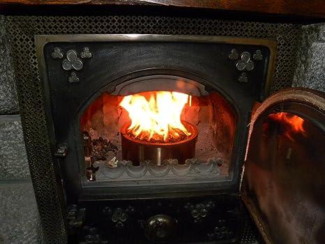 Qaito 10 - Quemador de pellets para estufa de leña