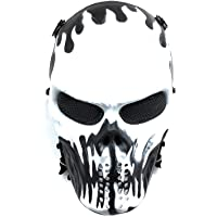 CS mascarilla de protección Halloween Airsoft Paintball Full