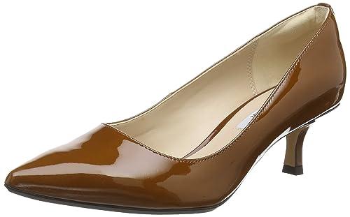 Clarks Aquifer Soda, Women's Ankle Strap Pumps, Brown (Cognac), 8 UK