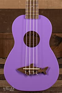 Kala Makala Shark Soprano Ukulele (Sea Urchin Purple)