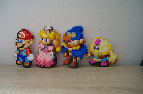 Sprite Characters From Super Mario Rpg Mario Peach Bowser Geno Mallow